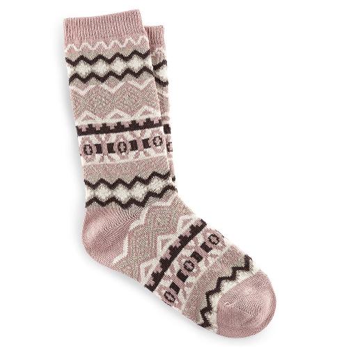 Cotton Jacquard Sock