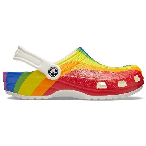 Classic Rainbow Stripe Clog