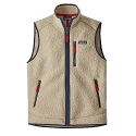 Retro Pile Fleece Vest
