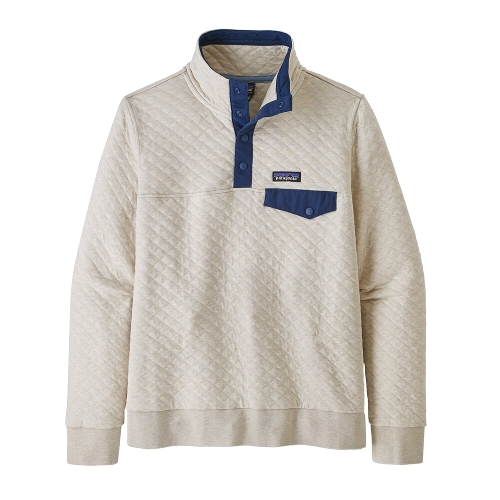 Cotton Quilt Snap-T Pullover