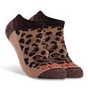 Cheetah Low Cut Sock