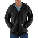 Mw Hooded Zip-Front Sweatshirt
