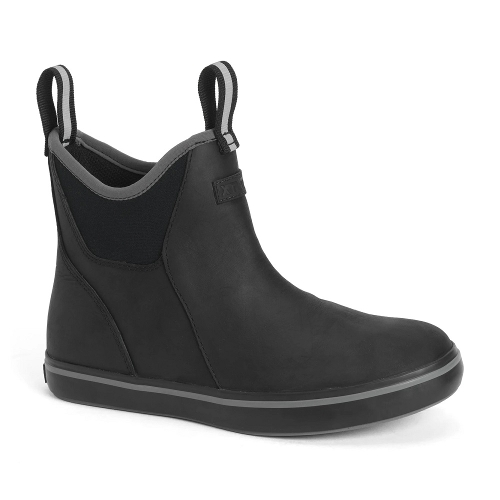 Leather 6 In Ankle Deck Boot